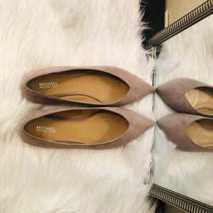 Michael Kors Lavender grey Flats! 🎉